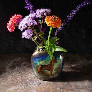 Example of a Small Pillow Vase Example